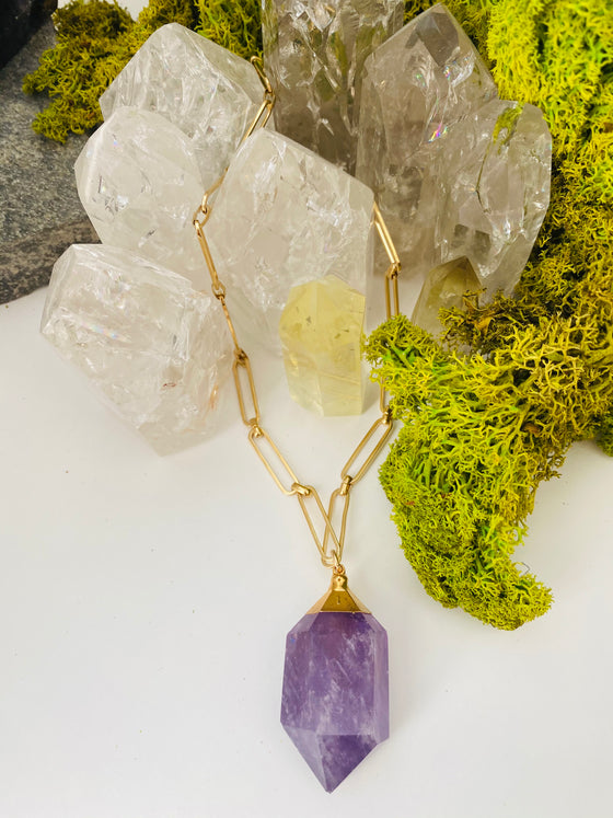 "Amethyst ""The Protector"" Necklace"