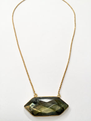 Labradorite Crest Necklace