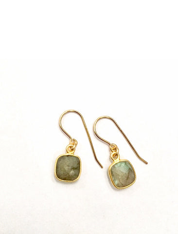 Labradorite Mini Earrings