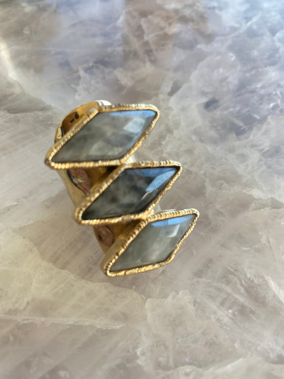 "Moonstone ""New Beginnings"" Ring"