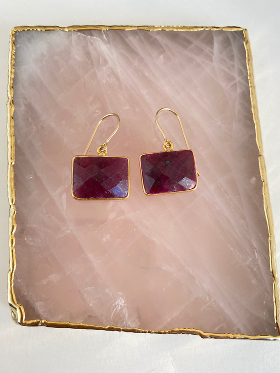 RubyPassion Earrings
