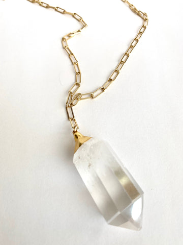 "Quartz ""Master Healer"" Necklace"