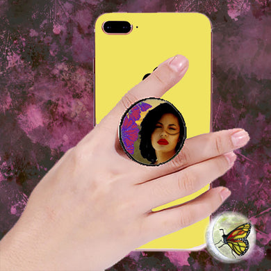 Lips Red as la Rosa Selena Pop Socket