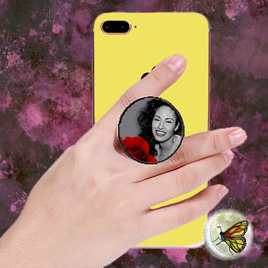 Rosa de Selena Pop Socket