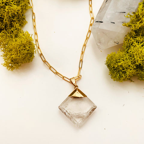Quartz Amulet Necklace