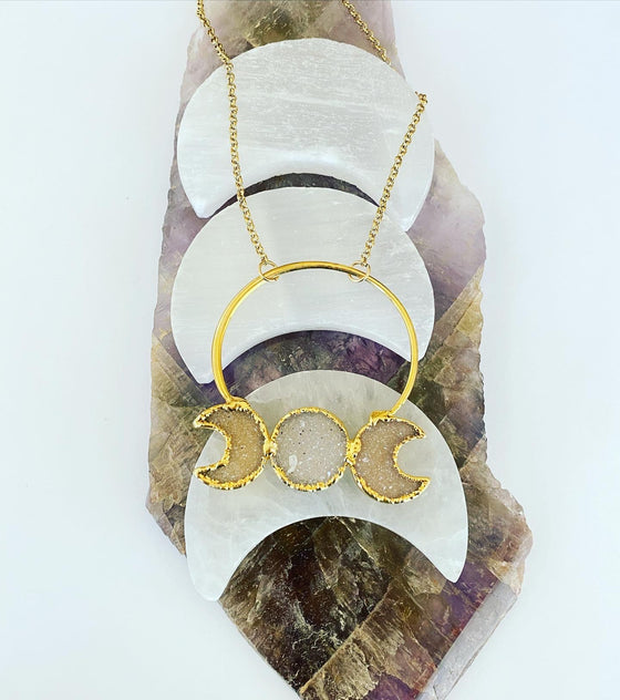 Moon Cycle Necklace