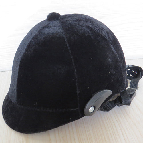 Adjustable Horse Riding Helmet - Black