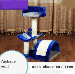 Cat tree with observatory platform