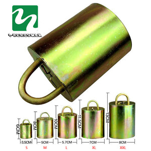 Grazing bells -Galvanized steel material in 5 Sizes