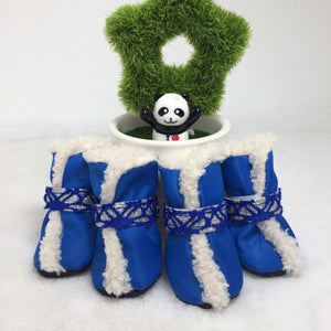 Holiday Waterproof Snow Skidproof Dog Boots