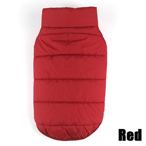 Winter Warm Dog Coat - 2 Colors & 7 Sizes