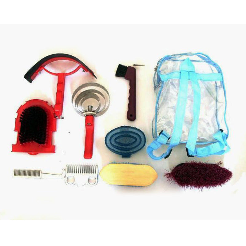 9 In 1 Horse Cleaning Tool Kit For Grooming