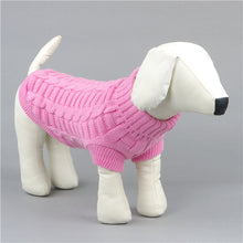 Warm Pet Clothing: Puppy, Cat, Rabbit Sweater Vests in 6 Sizes - 5 Colors