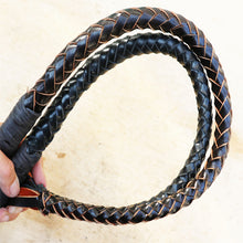 Wooden Handle Hand-Made Braided Riding Whips