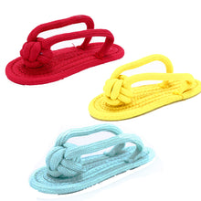 Candy Colored Cotton Rope Slippers - Pet Teeth Cleaning For Small,  Medium Dogs