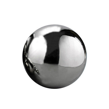 Stainless Steel Hollow Polished Sphere For Home Garden / 3 sizes