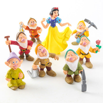 Snow White and the Seven Dwarfs PVC Figures