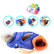 MultiFunction Cat Grooming Bag - No Scratching, Biting