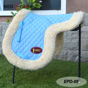 Endurance saddle pad, long distance, with cushion