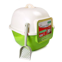 Indoor Closed Cat Litter Box