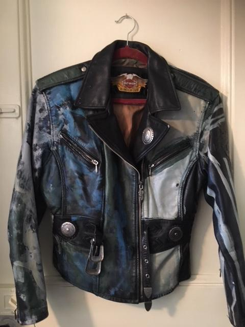My Biker - Leather Jacket - Medium