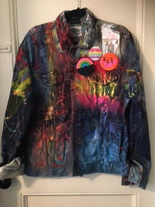 Somewhere - Denim Jacket - Large