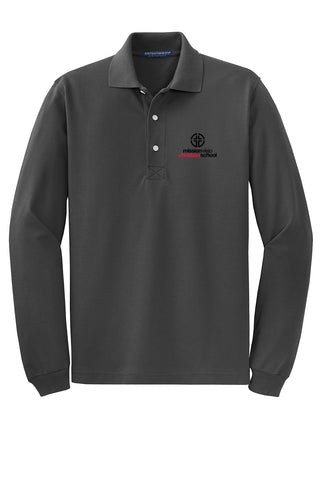 MVCS Unisex Long Sleeve Polo