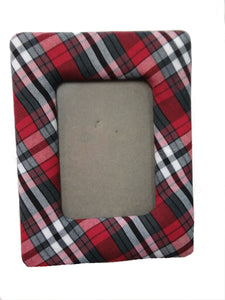 MVCS Plaid Photo Frame 4x6