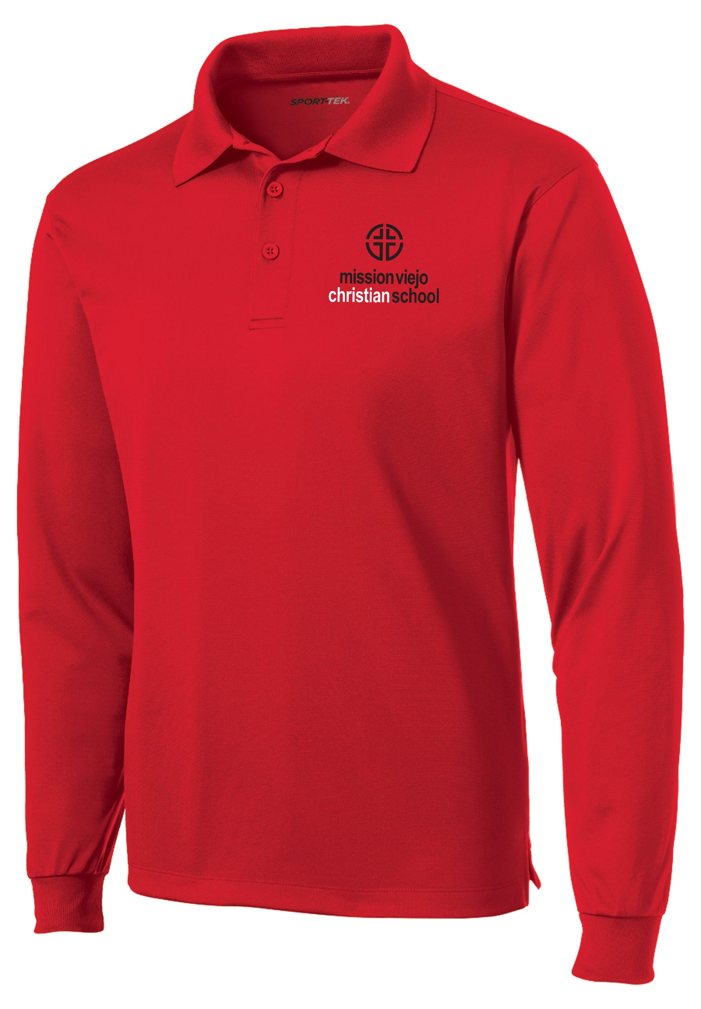 MVCS Unisex Chapel Long Sleeve Polo