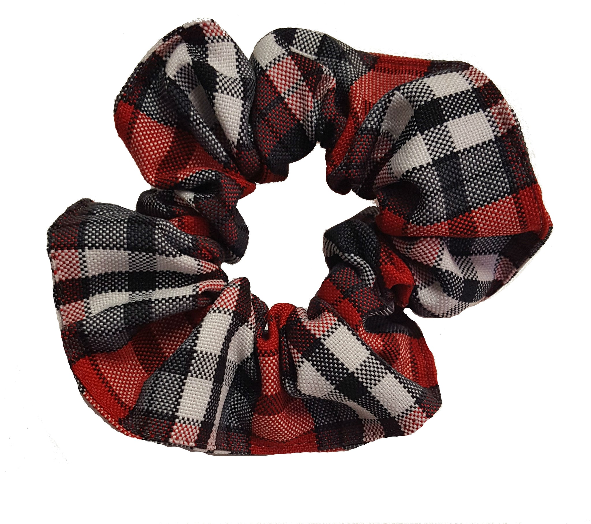 MVCS Plaid Scrunchie