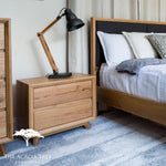 Windsor Tasmanian Oak Bedside Table