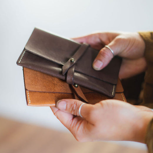 Vegetable-Tanned Leather Wallets