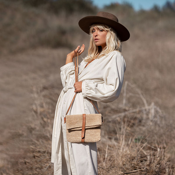 The Rosa Satchel