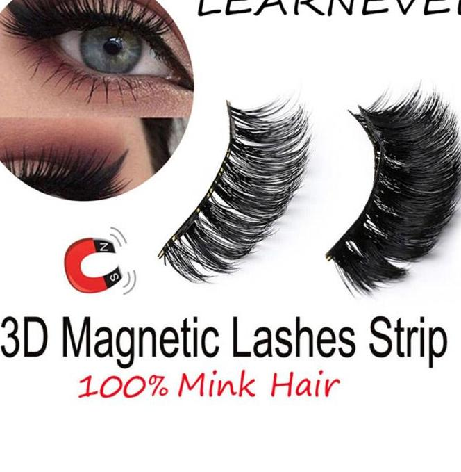 4pcs Magnetic Eyelashes