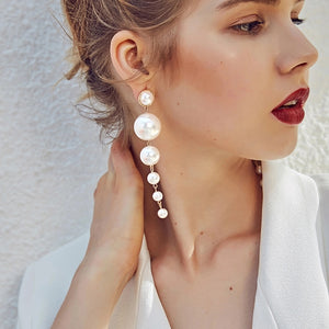 Round Shaped Layered Earrings