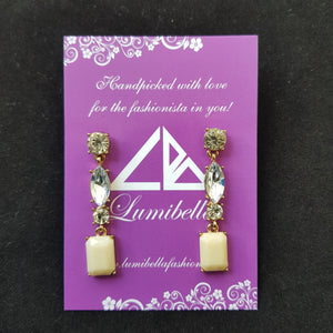 long styled fashion earring