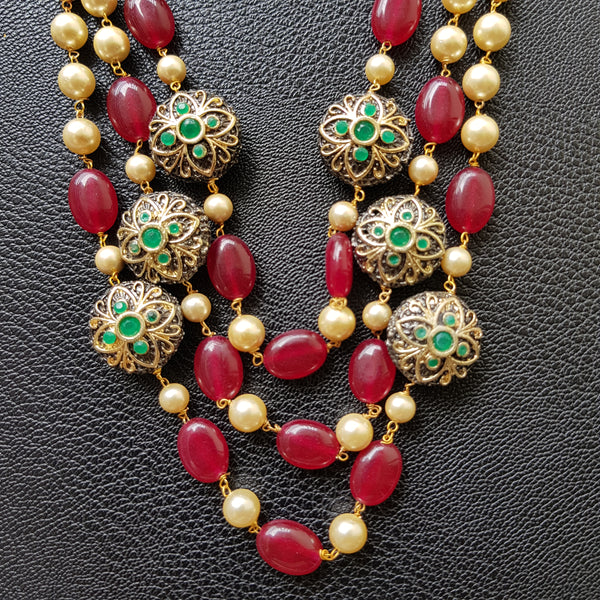 Kundan and Beadwork Long Chain