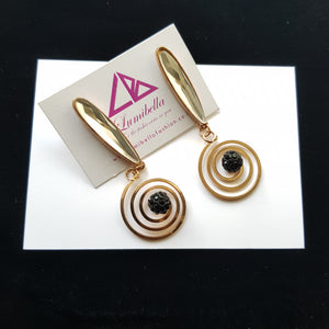 Spiral Patterned Earrings