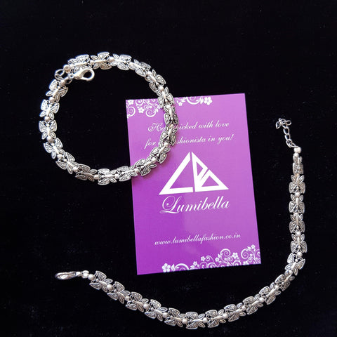 German Silver Anklet