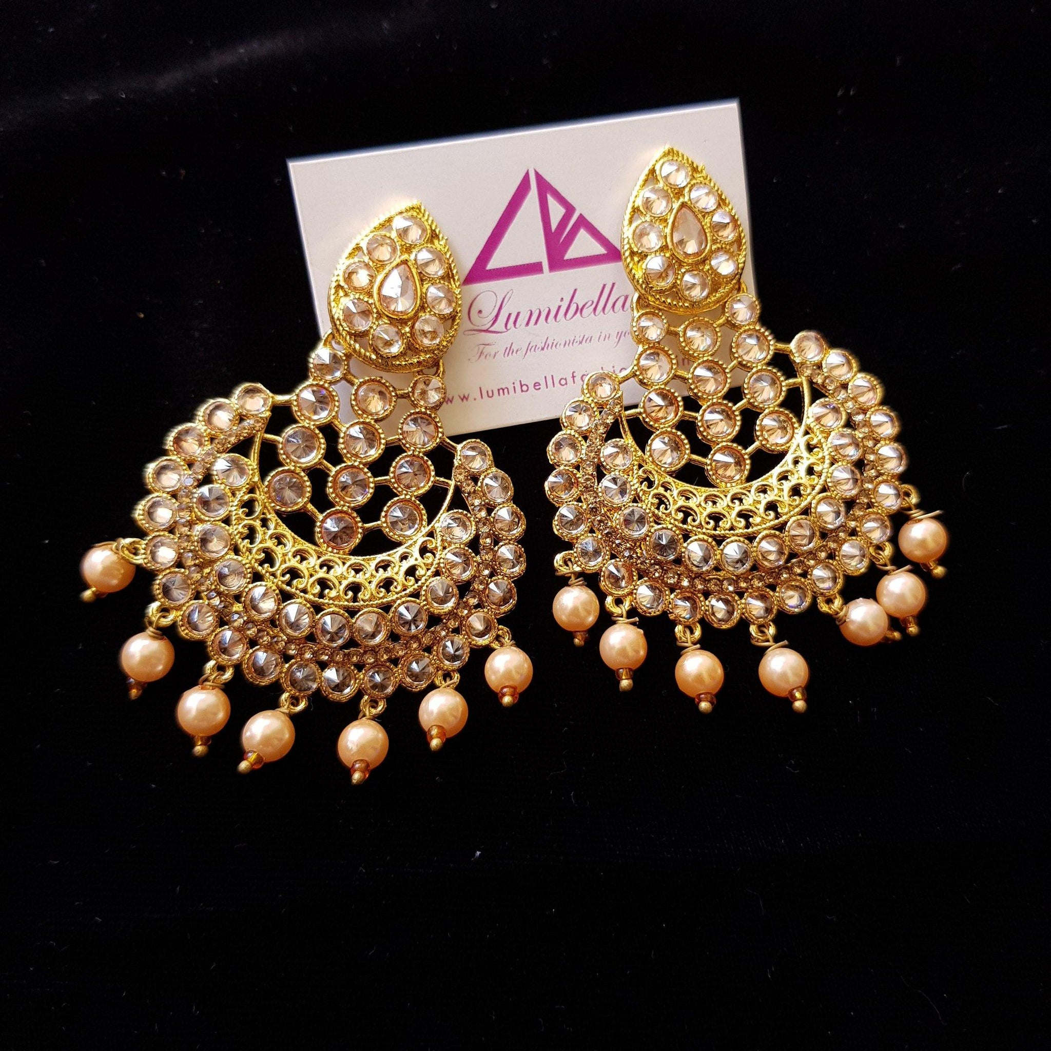 Designer Style Chandbali Earrings