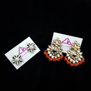Combo 3 - Designer and Silver Style Earrings