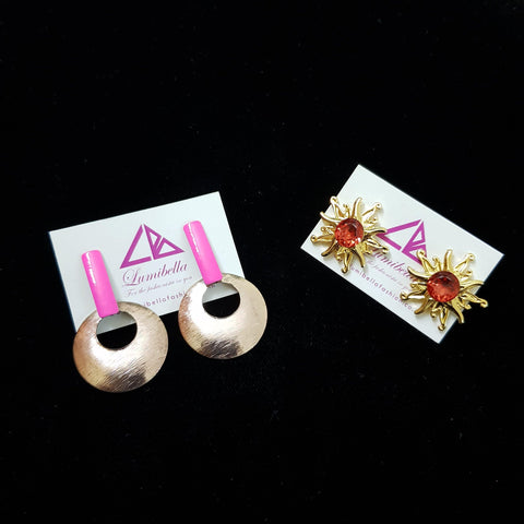 Combo 8 - Designer and Junk type Earrings
