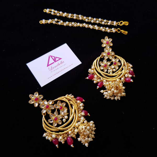 Kundan Designer Earrings