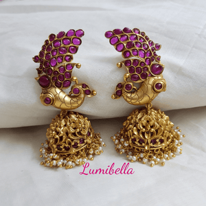 bridal jhumkas online shopping