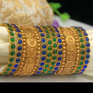 Kemp Temple Antique Bangles