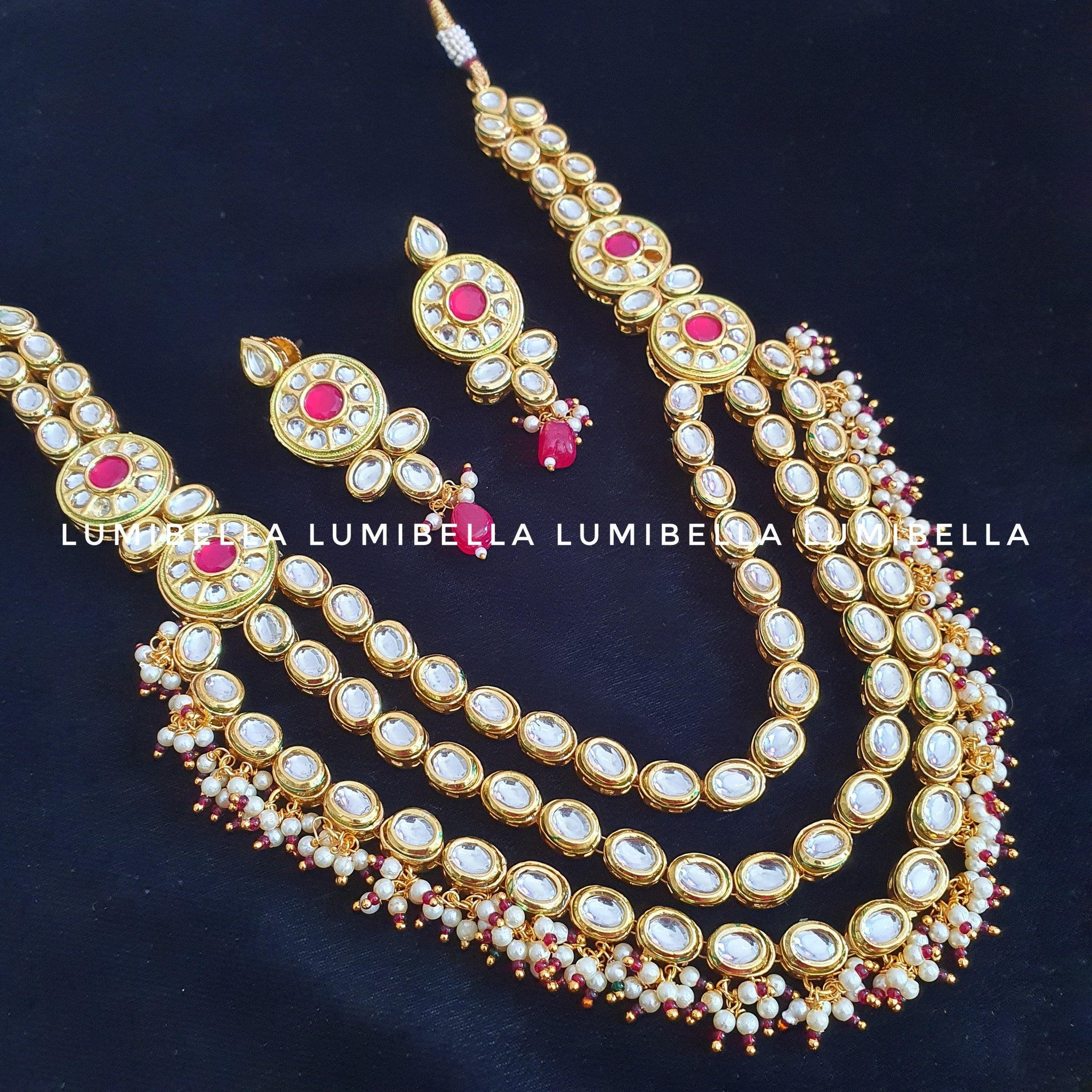 kundan Bollywood necklace