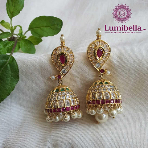 One Gram Gold Jhumka