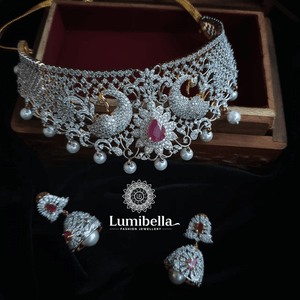 choker bridal set