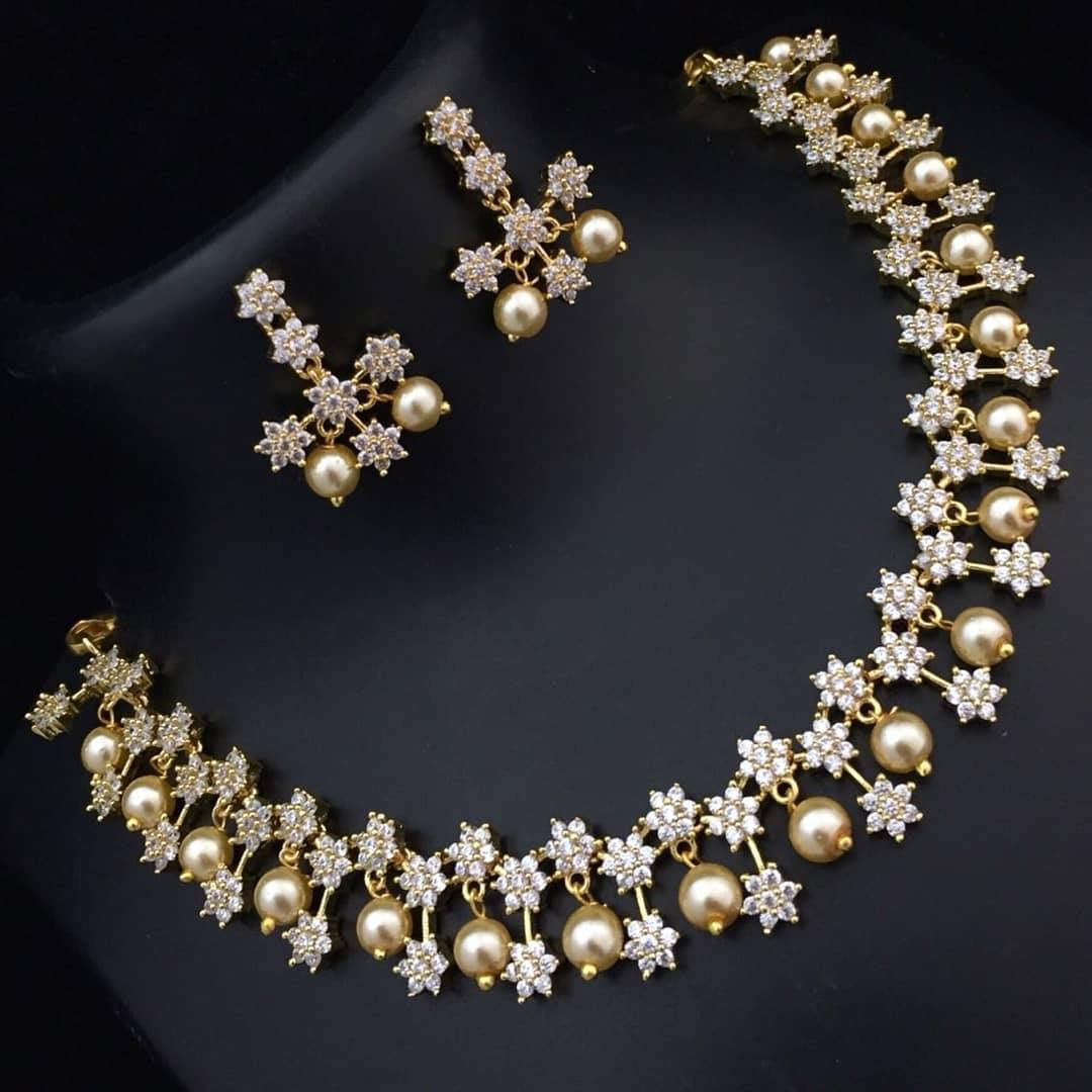 American Diamond Neckset