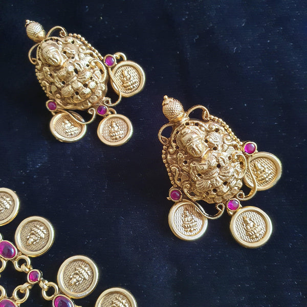 LAKSHMI STUD EARRINGS